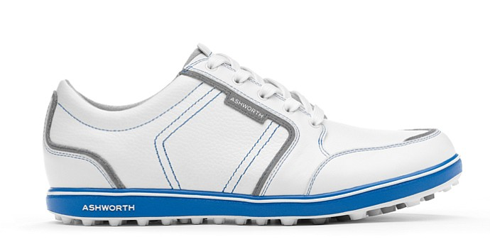 Ashworth Golf's Cardiff ADC spikeless golf shoe for men.