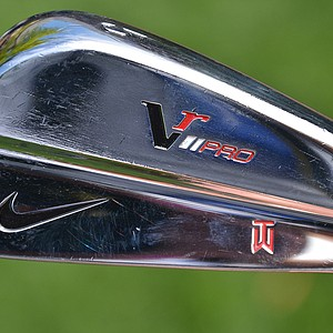Tiger Woods has his irons fitted with True Temper Dynamic Gold X100 shafts.