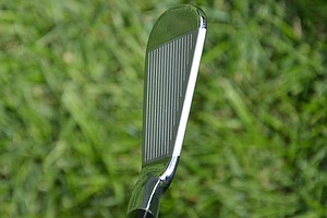 This is Tiger Woods' 6-iron, which features a very thin topline.