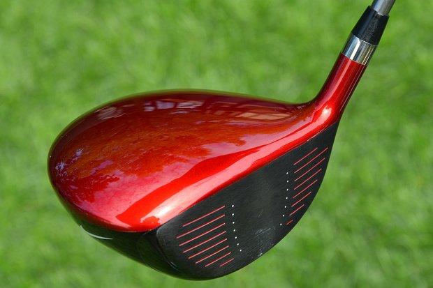 Before the start of the 2013 Open Championship, Tiger Woods switched to this VR_S Covert Tour prototype driver.