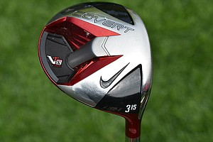 Tiger Woods switched to the Nike VR_S Covert Performance 3-wood earlier this season.