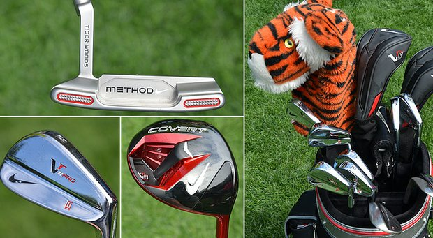 A look inside the bag of Tiger Woods.