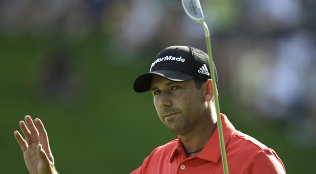 Sergio Garcia during the 2013 PGA Championship.