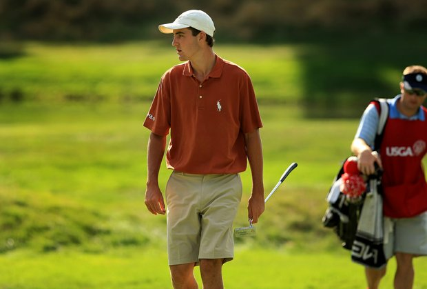 Scottie Scheffler defeated Matthias Schwab during the Round of 16 at the 2013 U. S. Amateur.