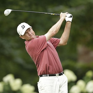 Davis Love III during the second round of the 2013 Wyndham Championship in Greensboro, N.C.
