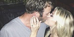 PHOTOS: Johnson, Gretzky get engaged