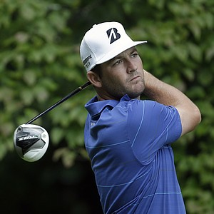 Matt Every during the final round of the 2013 Wyndham Championship in Greensboro, N.C.