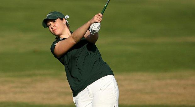 Michigan State senior Christine Meier won the Michigan Women's Amateur.