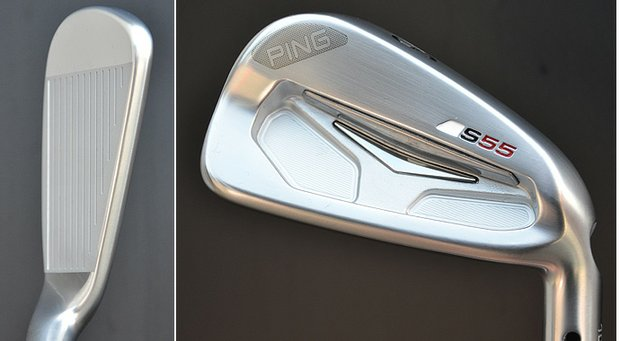 Ping Golf has brought its new S55 irons to Liberty National Golf Club, site of this week's Barclays Championship, where the clubs will be made available Monday for staff players to use for the first time.