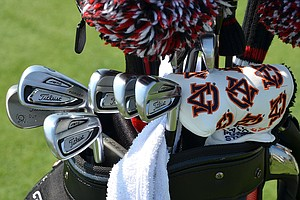 Jason Dufner used these Titleist 714 AP2 irons to win the PGA Championship at Oak Hill two weeks ago.