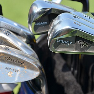 Henrik Stenson nearly won the PGA Championship using these Callaway Legacy Black irons and Cleveland Forged 588 RTX wedges.
