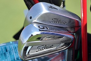 Ben Crane has switched to Titleist's new 714 AP2 irons and added 712U 3- and 4-irons to his bag.