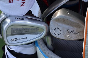 K.J. Choi is using Titleist 712 CB irons this week at The Barclays.