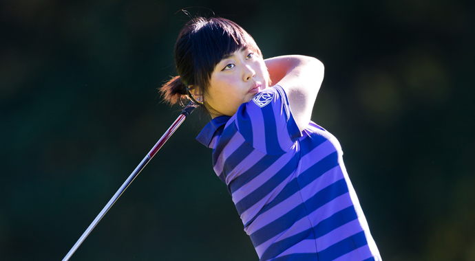 Washington's SooBin Kim is Golfweek's college women's player of the fall.