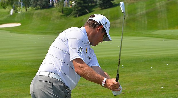 Lee Westwood switched iron shafts for the first time in 17 years this week, swapping Ping JZ shafts for True Temper X100 shafts. However, the change came in a roundabout way.
