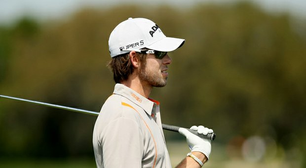 Aaron Baddeley during the 2013 Arnold Palmer Invitational.
