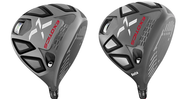 The Tour Edge XGC7 and XGC7 Beta drivers.