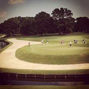 An Instagram view of The Junior Players Championship at TPC Sawgrass.