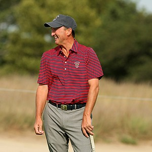 Todd White of USA during the 2013 Walker Cup at National Golf Links of America in Southampton, N.Y.