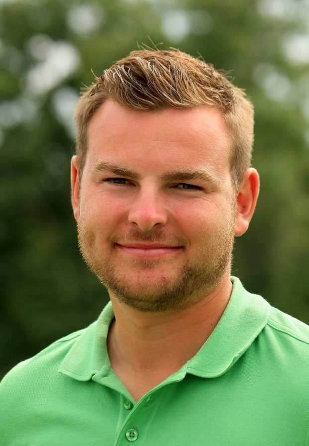 GB&I's Jordan Smith during the 2013 Walker Cup at National Golf Links of America in Southampton, N.Y.