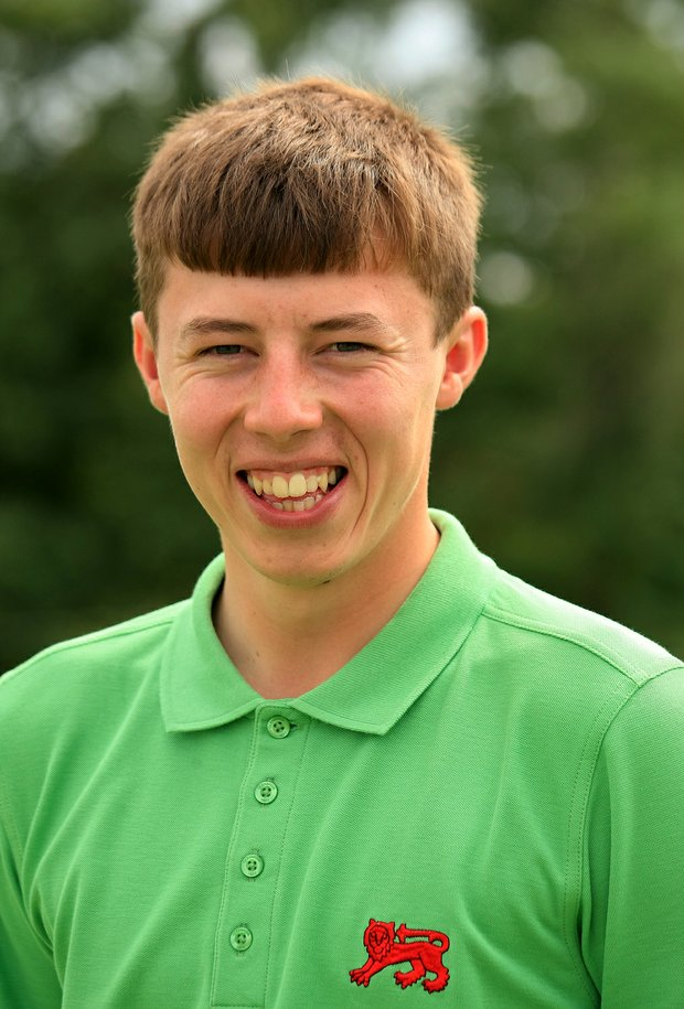 Matthew Fitzpatrick of GB&I during the 2013 Walker Cup at National Golf Links of America in Southampton, N.Y.