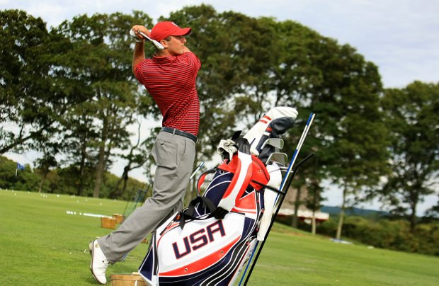 USA's Max Homa during the 2013 Walker Cup at National Golf Links of America in Southampton, N.Y.