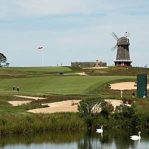 National Golf Links during the 2013 Walker Cup at National Golf Links of America in Southampton, N.Y.