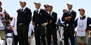 U.S. honors first Walker Cup by wearing golf ties