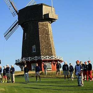 USA's Bobby Wyatt on Saturday of the 2013 Walker Cup at National Golf Links of America in Southampton, N.Y.