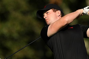GB&I's Garrick Porteous on Saturday of the 2013 Walker Cup at National Golf Links of America in Southampton, N.Y.