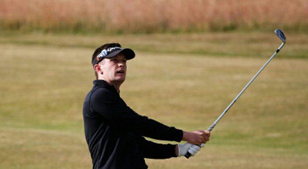 Garrick Porteous during the 2013 Open Championship.