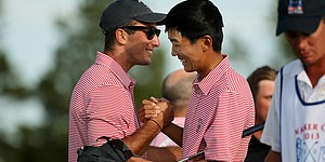 After sitting, Homa, Kim spark U.S. in Walker Cup