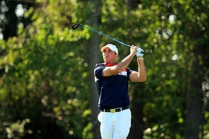 Max Homa during Sunday foursomes of the 2013 Walker Cup at National Golf Links of America in Southampton, N.Y.