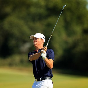 Justin Thomas during Sunday singals  of the 2013 Walker Cup at National Golf Links of America in Southampton, N.Y.