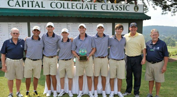 Georgia Tech after winning the 2013 Carpet Capital Collegiate Classic.