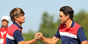 Capsules: Sunday morning Walker Cup foursomes