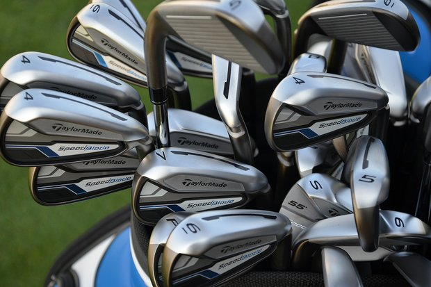 TaylorMade unveiled the SpeedBlade irons on Monday evening at Conway Farms Golf Club in Lake Forest, Ill., before the start of the 2013 BMW Championship.