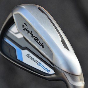 The SpeedBlade has a slot cut into the sole of the 3- through 7-irons allowing the face to flex more effectively at impact.
