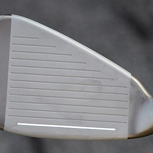 The 3-5 irons are cast from Carpenters steel, and the mid- and short irons are cast from softer 17-4 stainless steel.