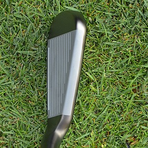 For players seeking more forgiving irons, the topline of the SpeedBlade is intended to provide confidence.