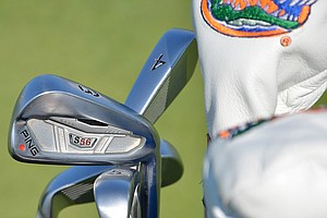 Billy Horschel, a proud University of Florida alumnus, plays Ping S56 irons.