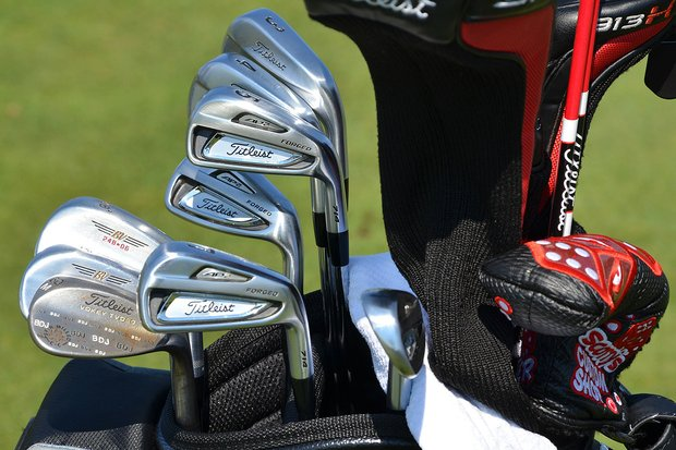 Brendon de Jonge, who earned a captain's pick from Nick Price onto the Presidents Cup's International team, recently switched to Titleist's 714 AP2 irons.