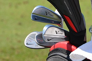 Rory McIlroy is the defending champion at the BMW Championship and he uses these Nike VR Pro Blade irons.