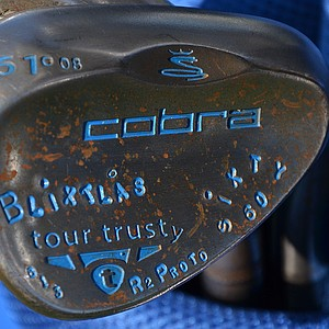 Jonas Blixt has added one of Cobra's new Tour Trusty lob wedges to his bag this season.