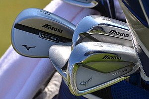 Luke Donald uses Mizuno MP-64 irons and a MP-T4 sand wedge.