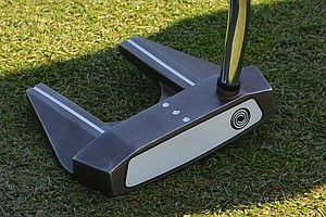 Luke Donald's putter is an Odyssey White Hot #7.