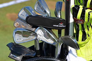 Graeme McDowell plays Srixon Z-TX Forged irons and Cleveland Forged 588 wedges.