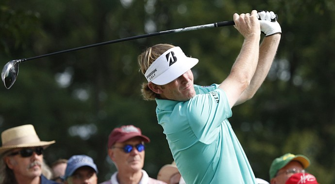 Brandt Snedeker during the first round of the 2013 BMW Championship near Chicago.