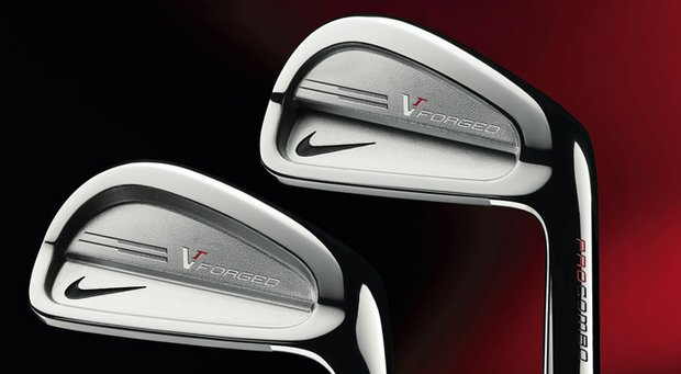 The Nike VR Forged Pro Combo irons.
