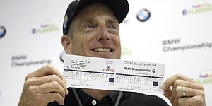 Furyk shoots Tour's sixth 59 at BMW